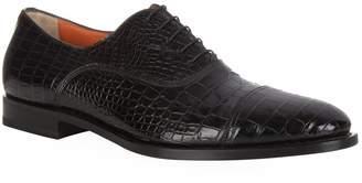 Santoni Croc Oxford Shoe