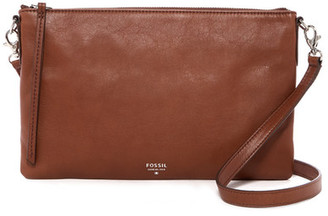 Fossil Sydney Leather Crossbody $128 thestylecure.com