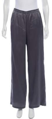 Emilio Pucci Silk Mid-Rise Pants