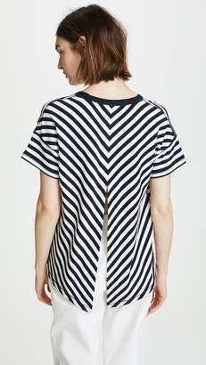 Rag & Bone Kat Split Back Tee