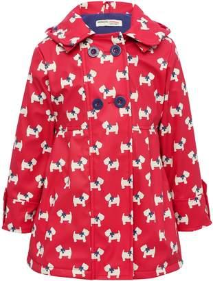 M&Co Minoti dog print raincoat
