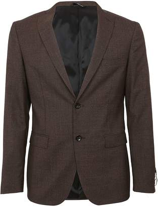 Tonello Micro Pattern Single Breasted Blazer