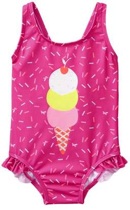 Gymboree Ice Cream 1-Piece Swimsuit