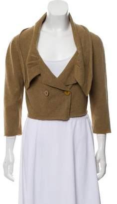 Stella McCartney Wool Cropped Cardigan