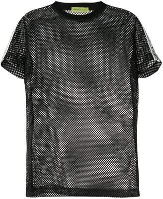 Versace mesh T-shirt