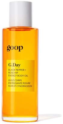 Goop Body Body G.day Black Pepper + Rose Hip Energy Body Oil