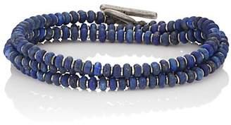 M. Cohen Men's The Axis Wrap Bracelet - Blue