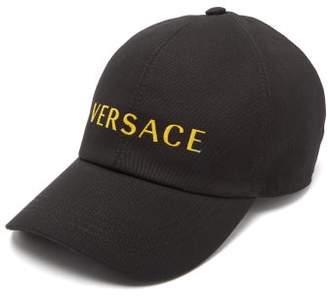 Versace Vintage Logo Cap - Mens - Black