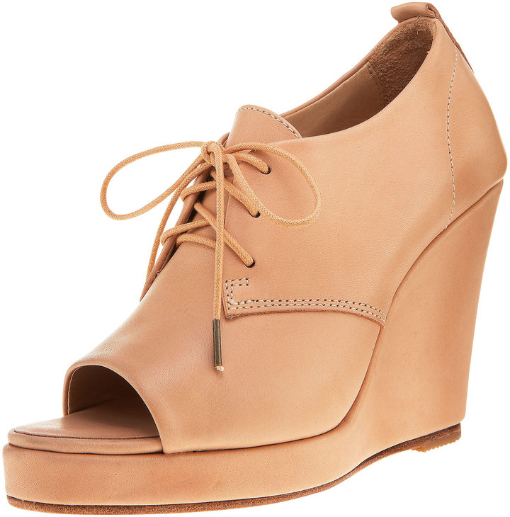 Rag & Bone Lace-Up Wedge Bootie