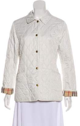 Burberry Quilted Lightweight Jacket