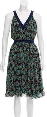 Ted Baker Printed Silk Dress