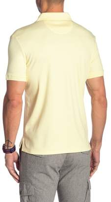 Calvin Klein Solid Short Sleeve Polo
