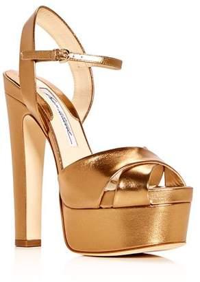 Brian Atwood Women's Madison High-Heel Platform Sandals