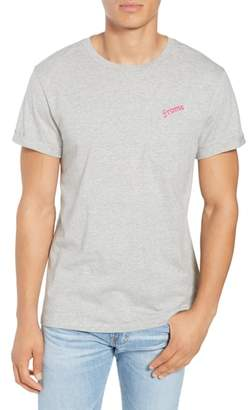 Frame Classic Fit Logo Embroidered Pocket T-Shirt