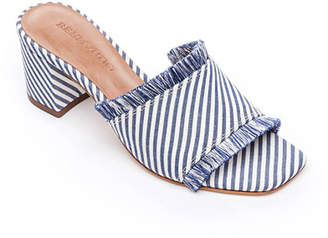 Bernardo Bryn Fringed Block-Heel Sandals