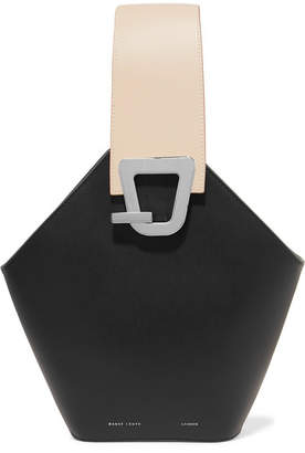Lente Danse Johnny Leather Bucket Bag - Black