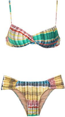 Lygia & Nanny printed bikini set