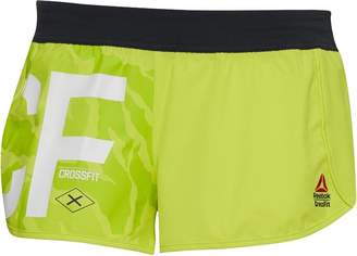 Reebok Womens CrossFit Ass To Ankle Shorts Hero Yellow