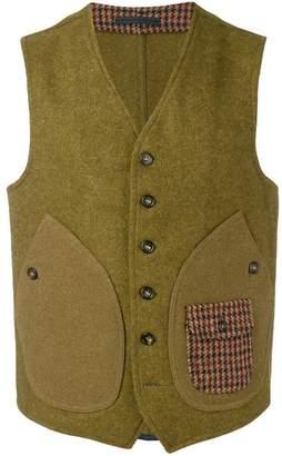 Fortela patch pocket vest