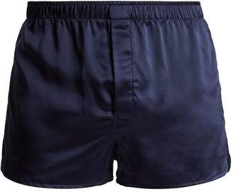 Derek Rose Bailey silk-satin boxer shorts