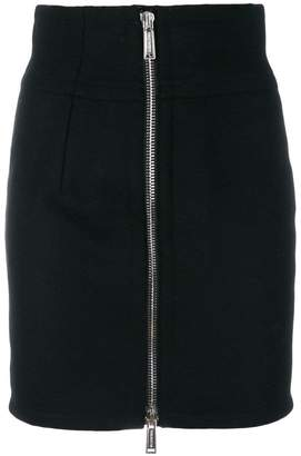 DSQUARED2 fitted zip-through mini skirt