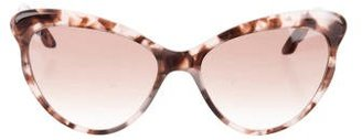 Brian Atwood Tortoiseshell Cat-Eye Sunglasses $80 thestylecure.com