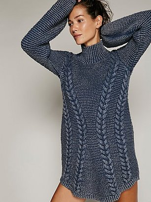 Back To Back Sweater Mini by Free People $168 thestylecure.com
