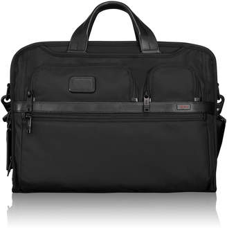 Tumi Alpha 2 Black Large Screen Laptop Brief
