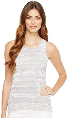 Calvin Klein Jeans Tank Top w/ High-Low Hem Women's Sleeveless
