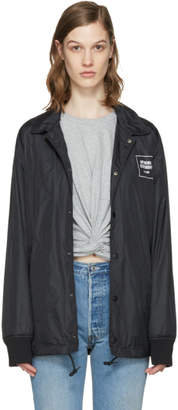 Opening Ceremony Black Signature Coach Jacket