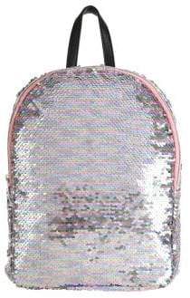 Capelli New York Girl's Mini Reversible Sequin Backpack