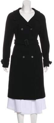 Prada Long Virgin Wool Coat