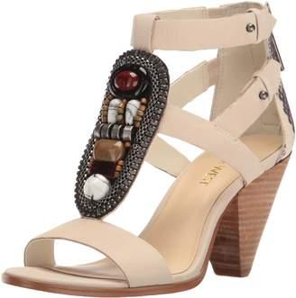 Nine West Women's Reese Leather Dress Sandal