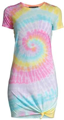 Generation Love Casey Tie-Dye T-Shirt Dress