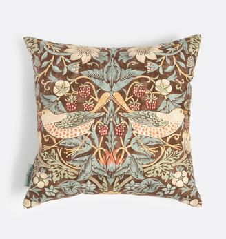 Rejuvenation William Morris Strawberry Thief Pillow Cover