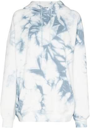 Ninety Percent oversized tie-dye hoodie
