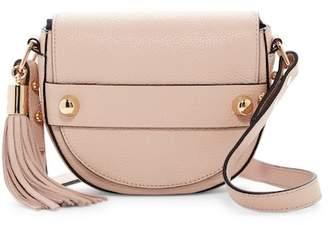 Milly Astor Leather Saddle Crossbody Bag