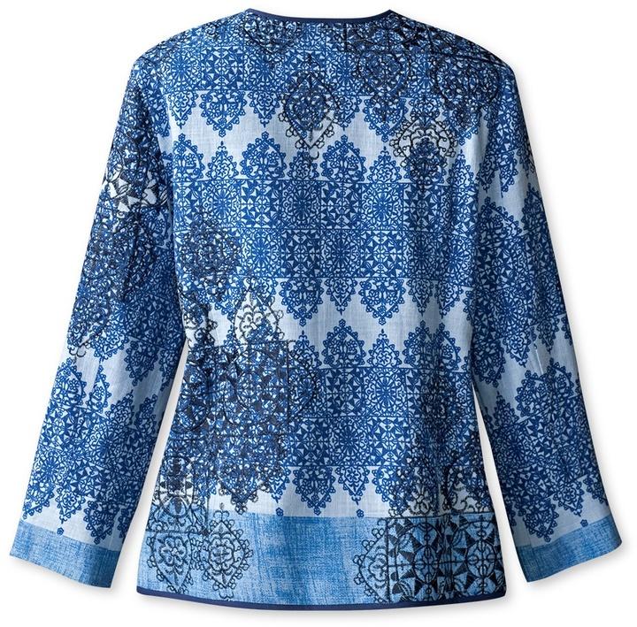 Coldwater Creek Allover embellished jacket