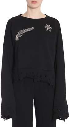 Amen Cropped Sweatshirt
