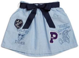 Polo Ralph Lauren Varsity Mini Skirt