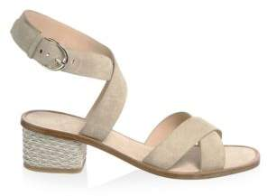 Joie Rana Suede Ankle-Strap Sandals