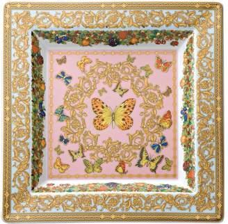 Versace (ヴェルサーチ) - VERSACE LE JARDIN 磁器 スクエア皿