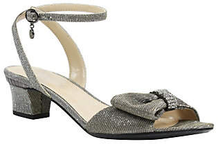 J. Renee Low Heel Ankle Strap Sandals - Davet