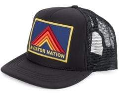 Aviator Nation Kid's Mountain Stripe Baseball Cap