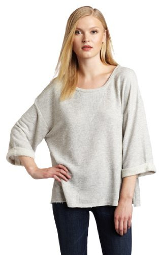 Nation LTD Women's Tuscany Scoop Neck Sweatshirt