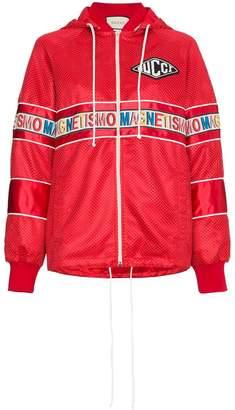Gucci Magnetismo Stripe Net Jacket