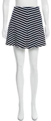 Joie Striped Mini Skirt