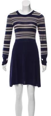 Marc by Marc Jacobs Striped Knit Mini Dress