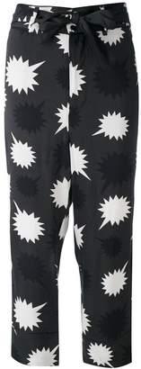 Diesel bow detail Pjama trousers