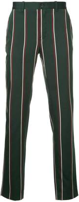 Kent & Curwen striped trousers